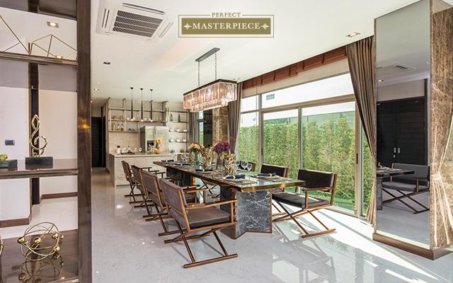 สัมผัสความโอ่อ่าในคฤหาสน์หรู สไตล์ Modern Luxury พร้อมนวัตกรรมอนุรักษ์พลังงาน @ เพอร์เฟค มาสเตอร์พีซ เซนจูรี รัตนาธิเบศร์