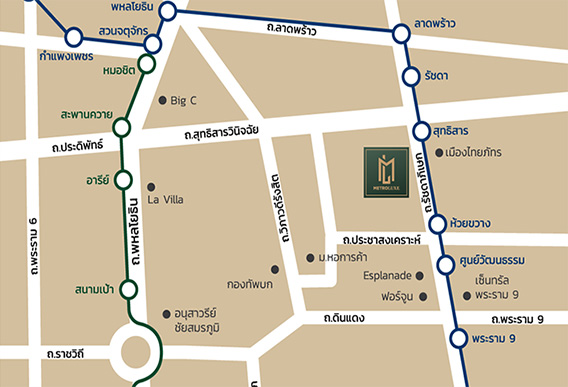MetroLuxeRatchada_Map
