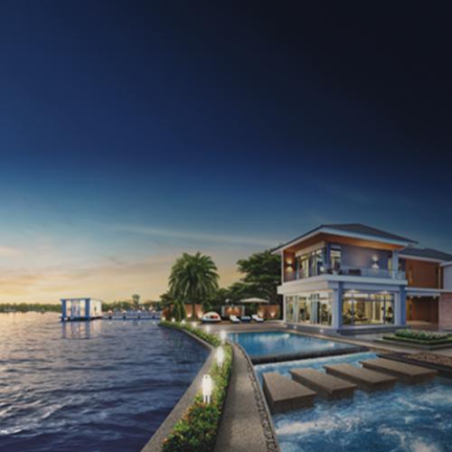บ้านหรู ริมทะเลสาบ